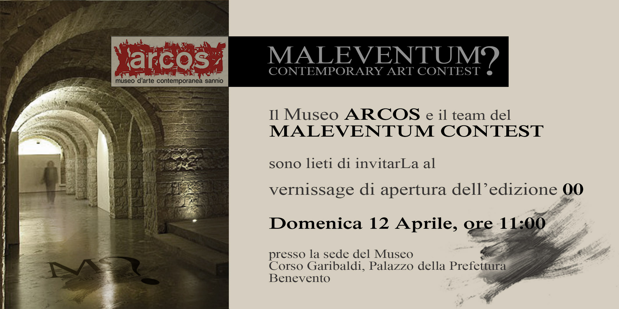 invito vernissage
