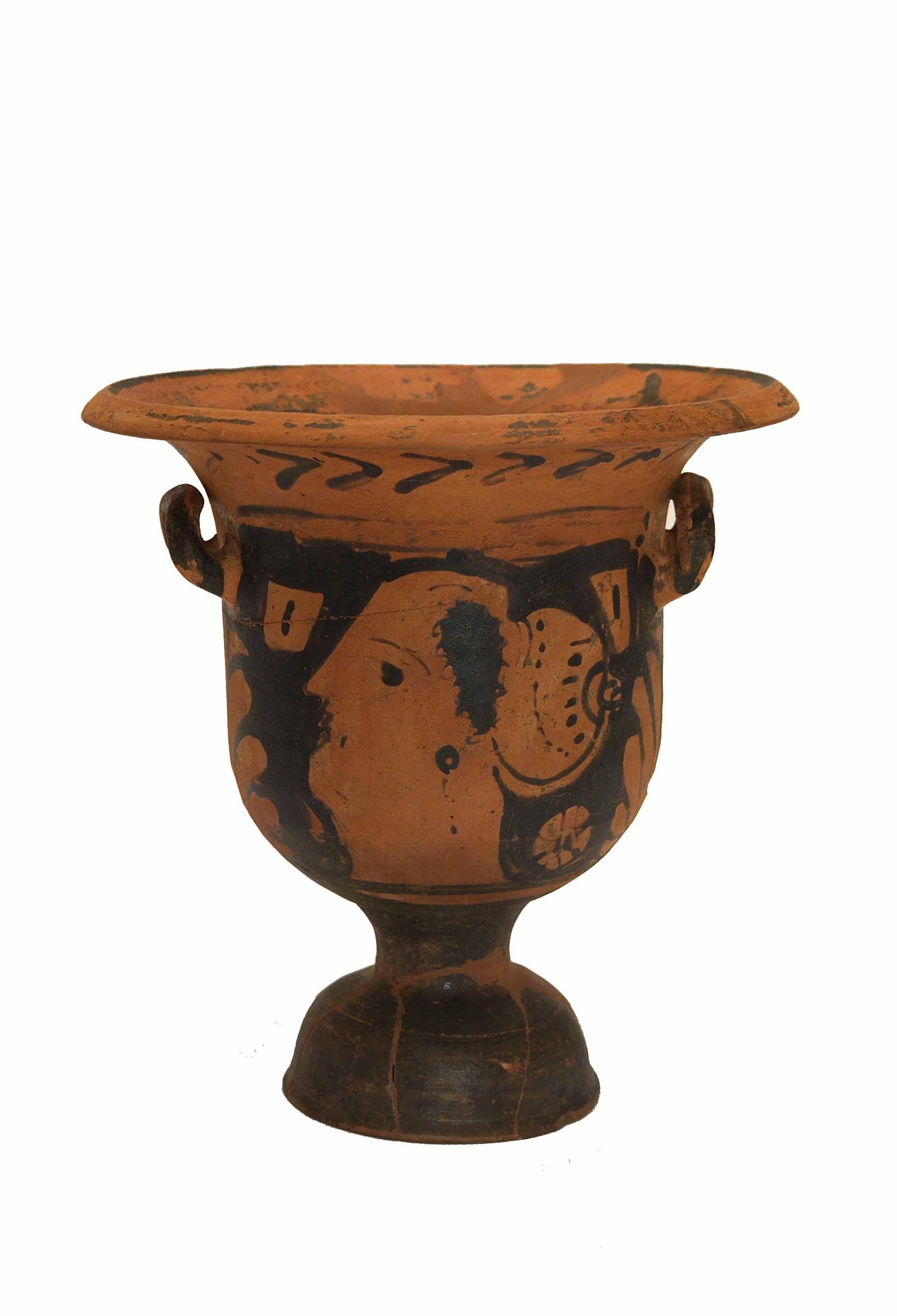 Cratere- Museo archeologico di Eboli
