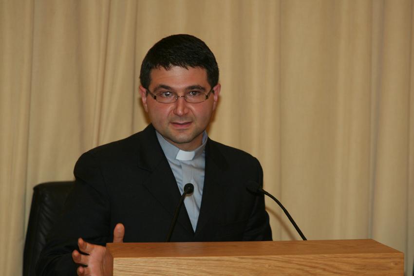 Padre Edoardo Scognamiglio, teologo e ministro provinciale dei frati conventuali