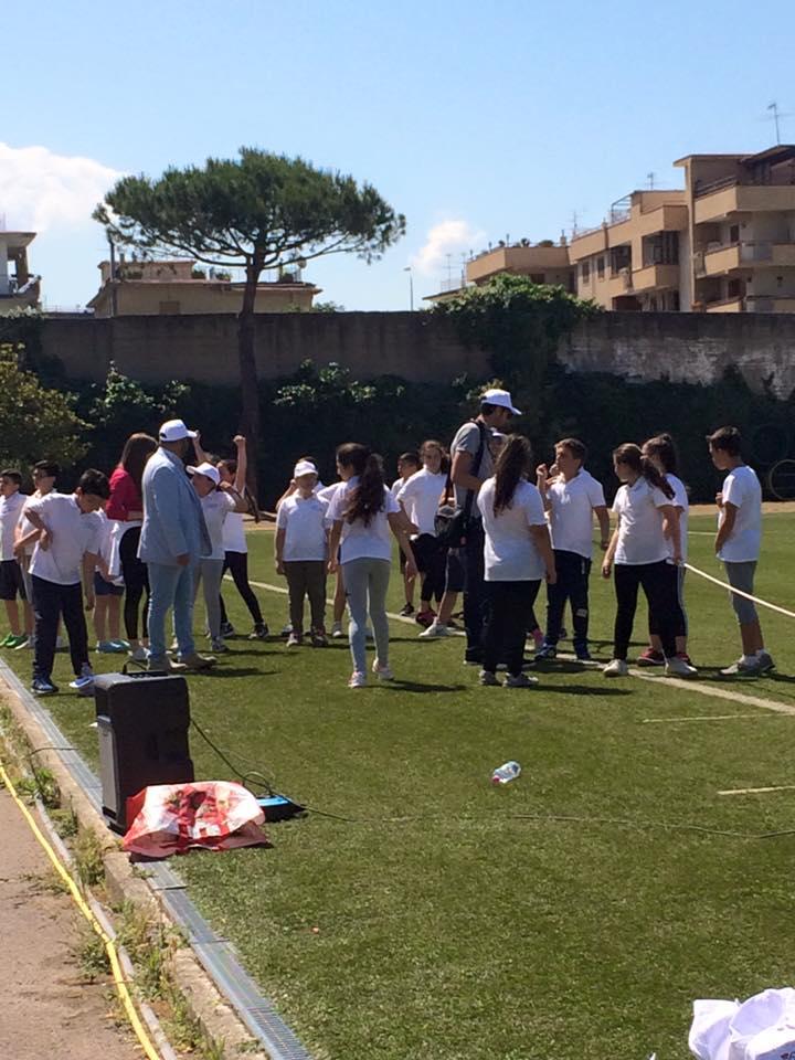 Studenti impegnati nelle Ercolaniadi