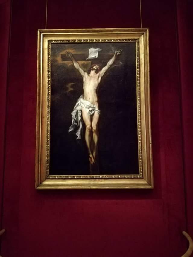 Cristo in Croce del pittore fiammingo Van Dyck