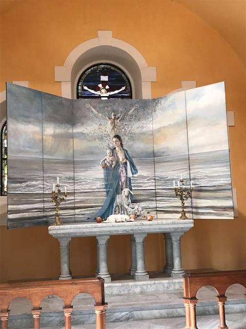 """La mostra """"Genesi,  la nascita della natura e dell'umanità"""" del pittore tedesco Henning von Gierke, a Capri (NA) fino al 5 settembre 2017"""