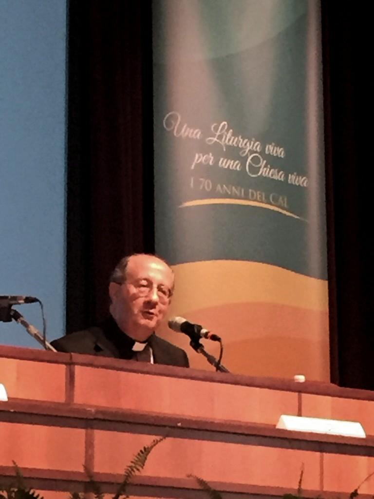 Monsignor Bruno Forte, arcivescovo di Chieti-Vasto