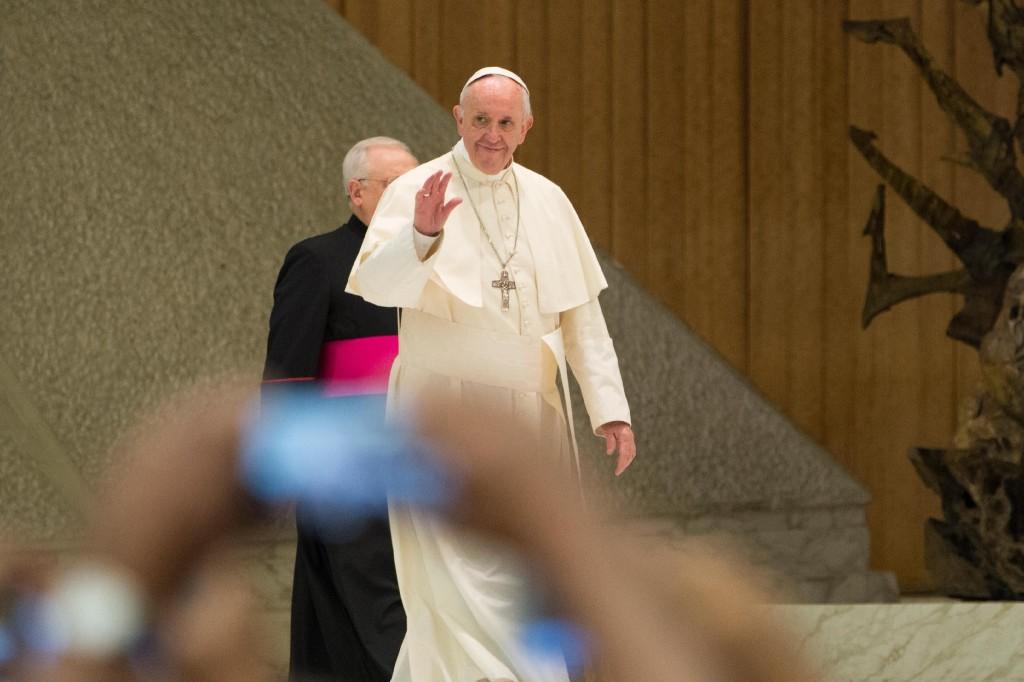 Papa Francesco all'udienza particolare per la settimana liturgica nazionale (24 agosto 2017)