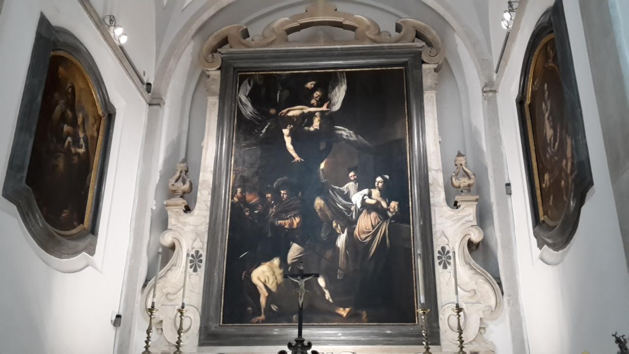 Le sette opere della Misericordia (Caravaggio) - Pio Monte della Misericordia (Napoli - via Tribunali)