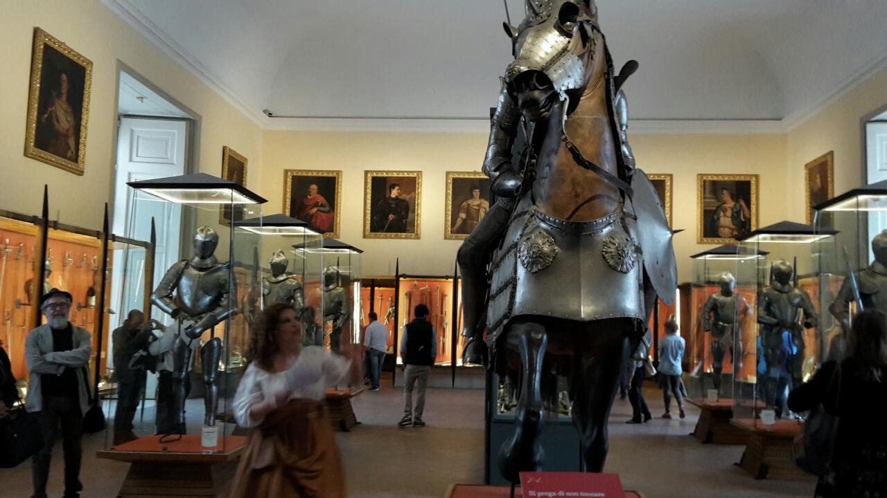 Armeria Farnese a Capodimonte