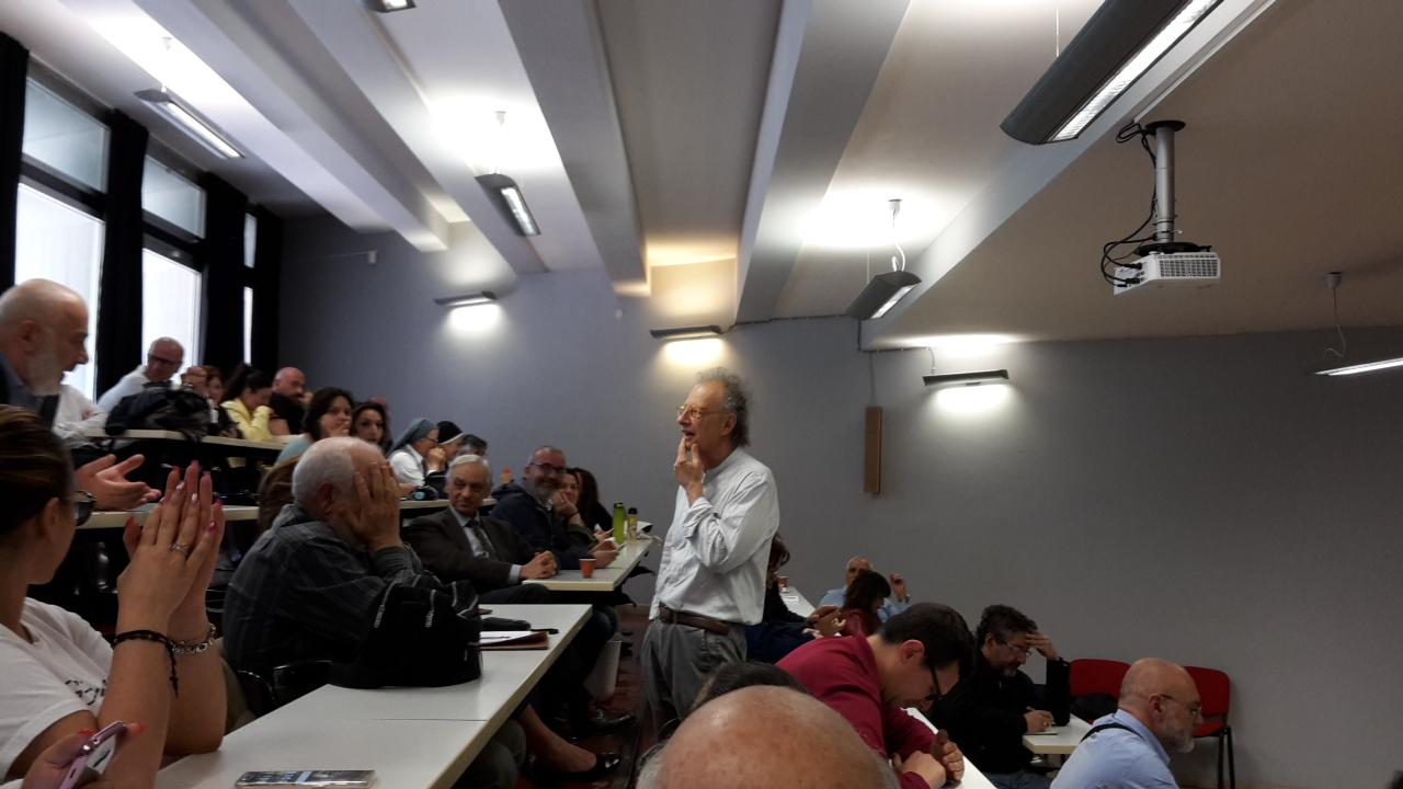 Gherardo Colombo alla Pontificia Facoltà Teologica dell'Italia Meridionale - sezione San Tommaso