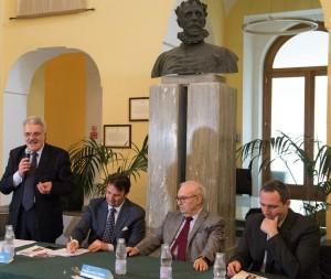 Biagio Ciccone (presidente Ada Napoli e Campania) prende la parola alla conferenza di Sorrento (11 aprile 2018)