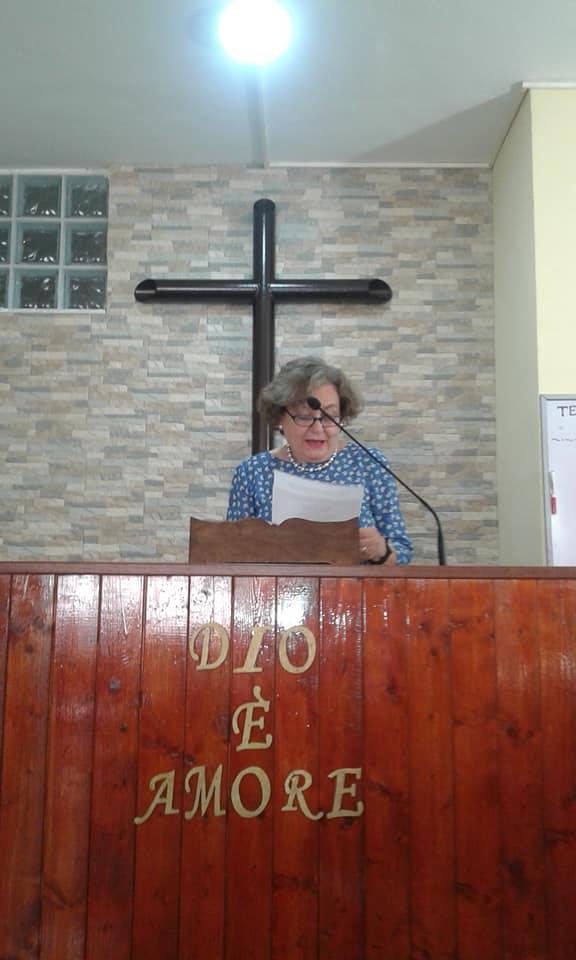 Elisabetta Kalampouka, rappresentante della Chiesa Ortodossa (Patriarcato ecumenico di Costantinopoli)