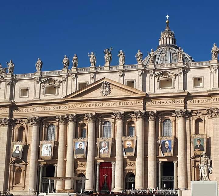 Canonizzazioni in piazza San Pietro