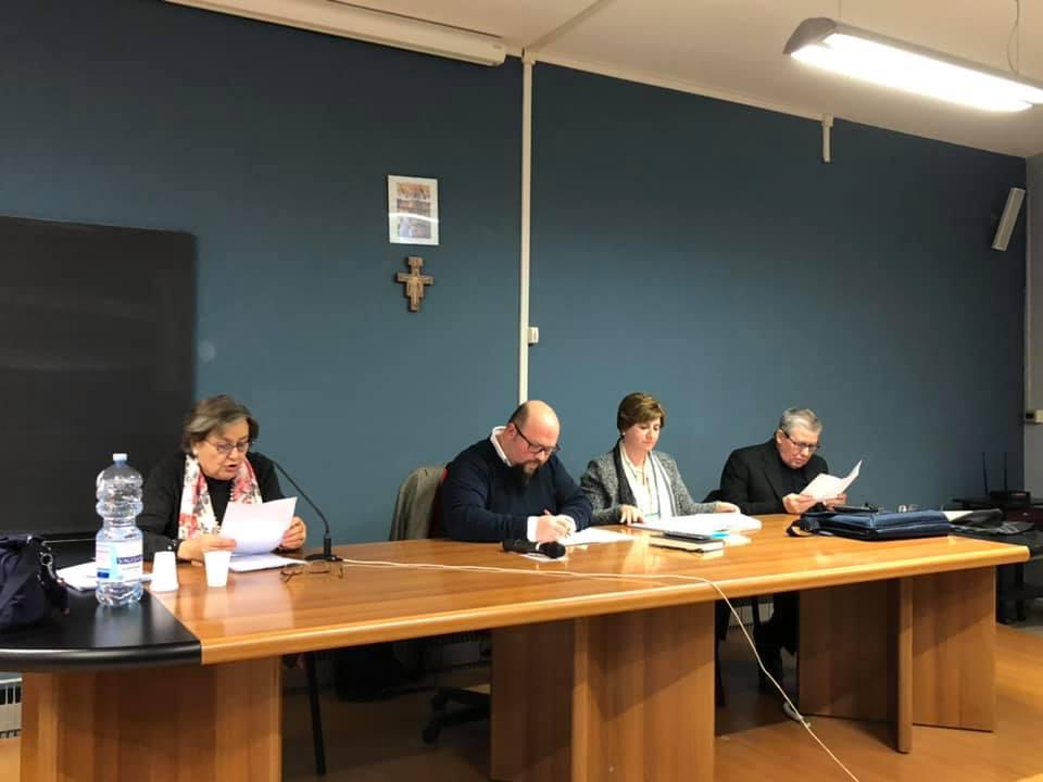 Da sx verso dx: Elisabetta Kalampouka, Michele Giustiniano, Alessandra Trotta, Salvatore Esposito