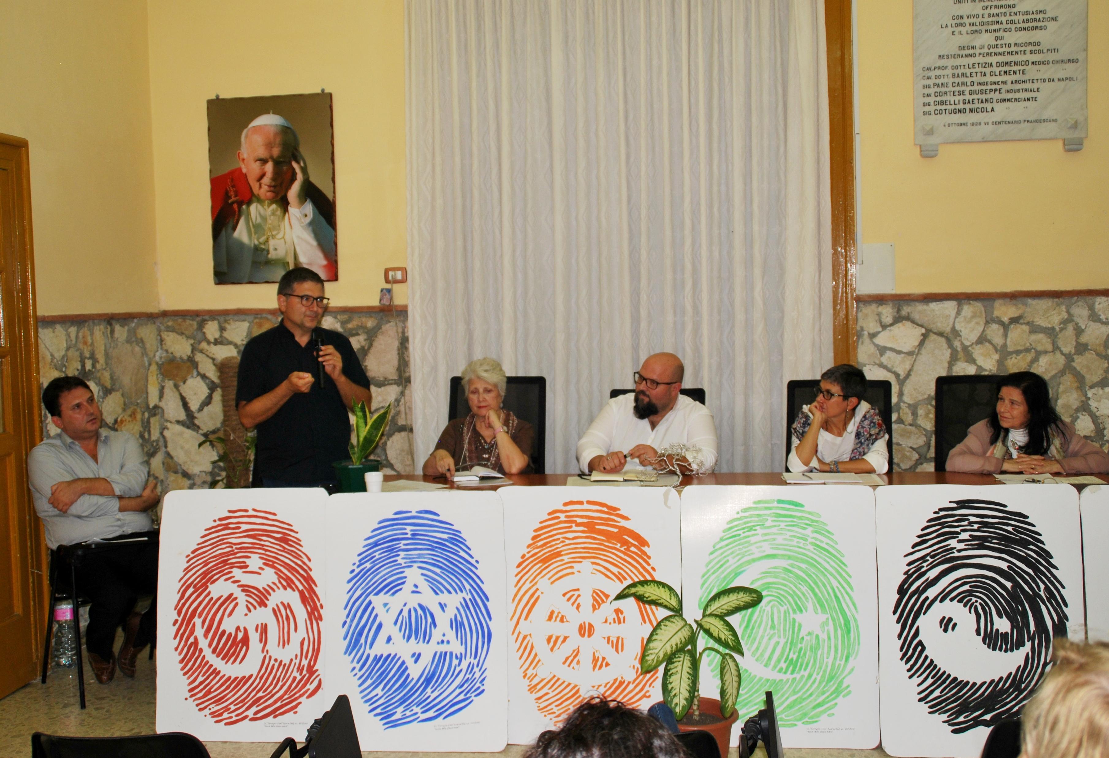 Tavolo dei relatori (foto gentilmente concessa da Silvio Cossa)